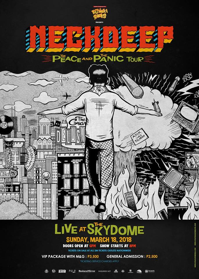 Neck Deep Live at The Skydome