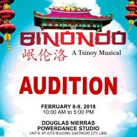 Auditions For Binondo: A Tsinoy Musical Set On Feb. 8-9