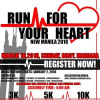 Run for Your Heart New Manila Fun Run 2018