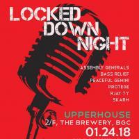 LOCKED DOWN NIGHT AT UPPERHOUSE
