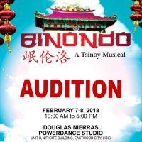Auditions For Binondo: A Tsinoy Musical Set On Feb. 7-8