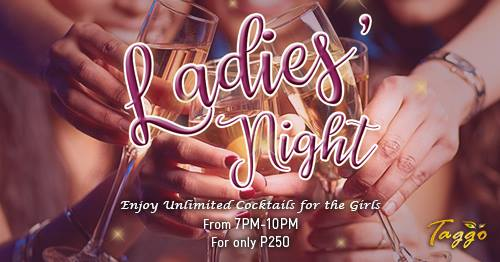 LADIES' NIGHT AT TAGGO BAR MORATO
