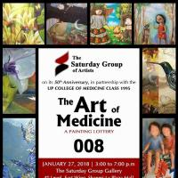 THE ART OF MEDICINE - Painting Lottery