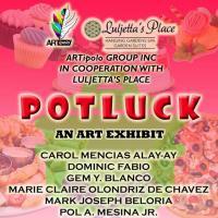 POTLUCK GROUP ART EXHIBIT