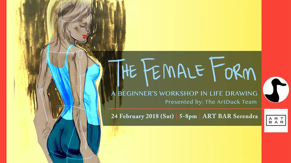 BEGINNER'S WORKSHOP IN LIFE DRAWING: THE FEMALE FORM