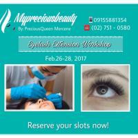 Eyelash Extensions Workshop