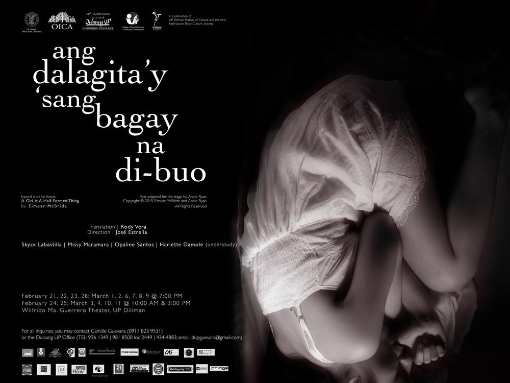 Ang Dalagita'y 'sang Bagay Na Di-Buo