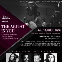 THE ARTIST IN YOU WORKSHOP