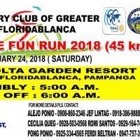 RC GREATER FLORIDABLANCA 2ND BIKE FUN RUN 2018 (45 KM)