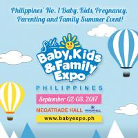 8TH BABY, KIDS & FAMILY EXPO PHILIPPINES 2018