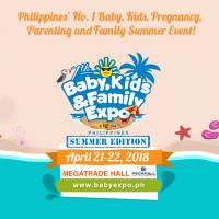 7TH BABY, KIDS & FAMILY EXPO PHILIPPINES 2018 - SUMMER EDITION