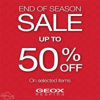 END OF SEASON SALE WITH GEOX
