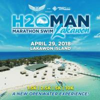 H2OMAN MARATHON SWIM LAKAWON 2018 IN NEGROS OCCIDENTAL