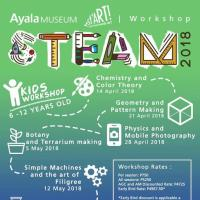 AYALA MUSEUM STEAM WORKSHOP 2018