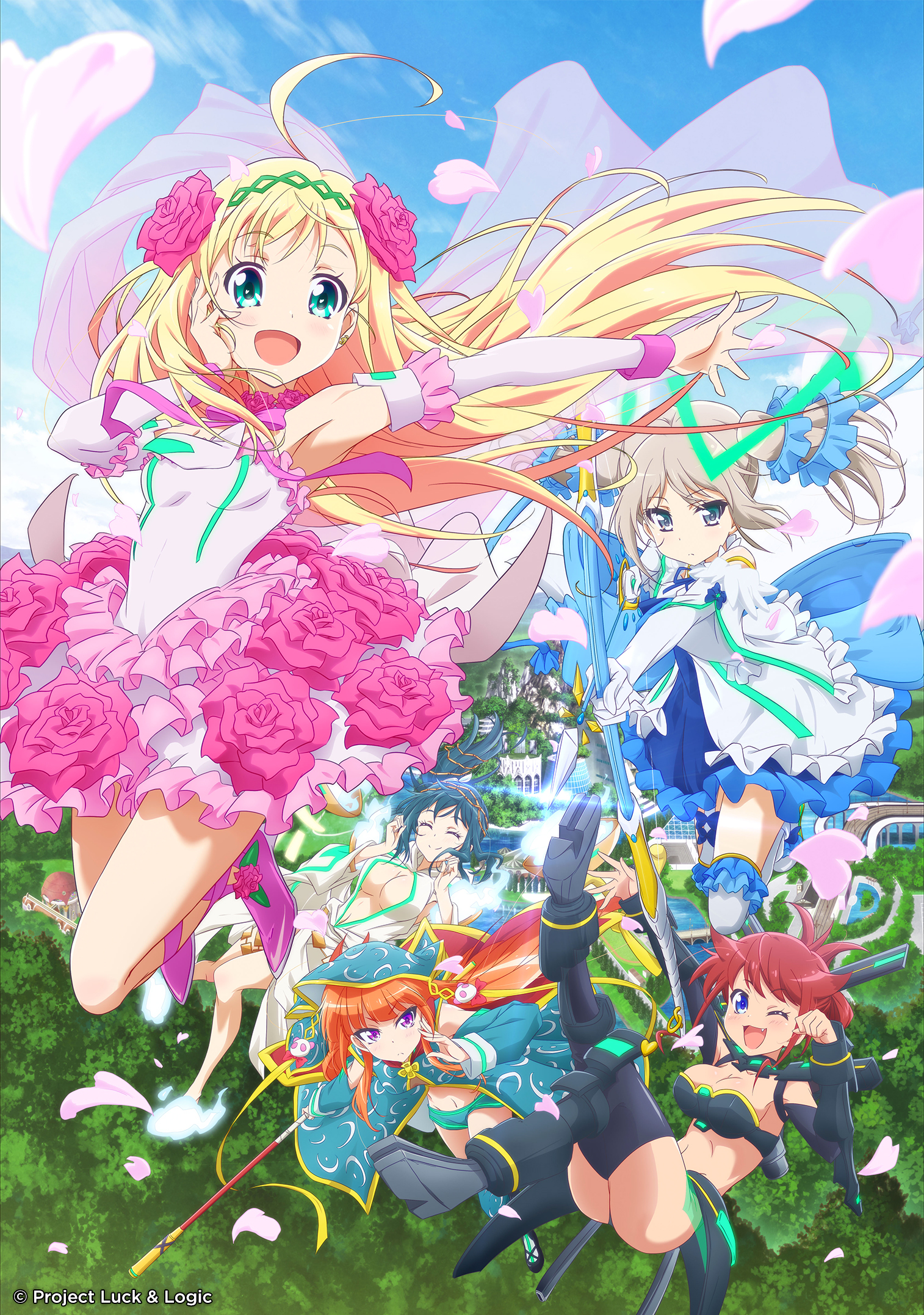 A Whole New Adventure Awaits Anime Fans This March When The Action Fantasy Hina Logic From Luck Debuts On Animax