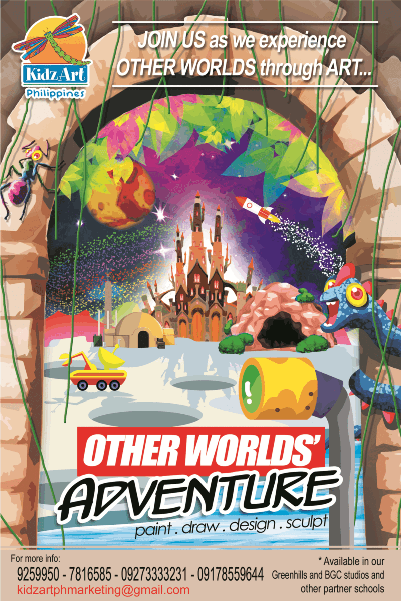 KIDZART OTHER WORLDS' ADVENTURE