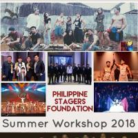 PHILIPPINE STAGERS FOUNDATION SUMMER WORKSHOP 2018