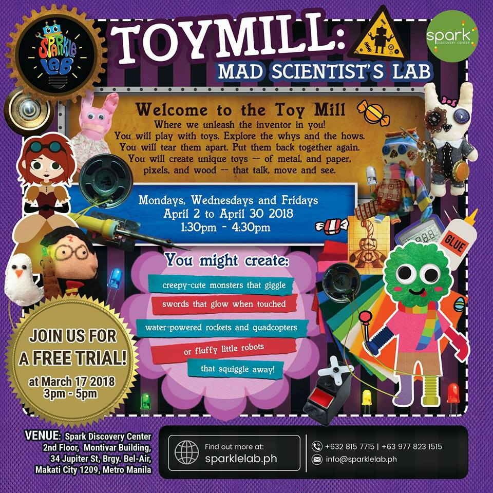 TOYMILL: MAD SCIENTIST'S LAB