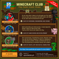MINECRAFT CLUB: ADVENTURE CAMP