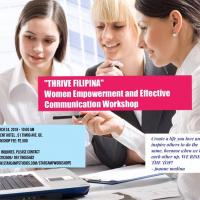 """THRIVE PINAY"" WOMEN EMPOWERMENT AND EFFECTIVE COMMUNICATION WORKSHOP"
