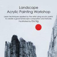 LANDSCAPE ACRYLIC PAINTING WORKSHOP
