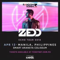 ZEDD Echo Tour 2018