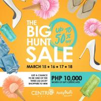 BIG HUNT SALE ON MARCH 15-17, 2018!