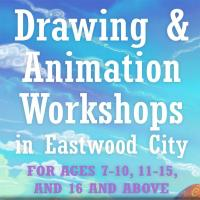 BASIC DRAWING AND ANIMATION WORKSHOP IN EASTWOOD CITY