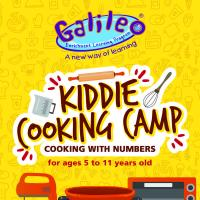 KIDDIE COOKING CAMP: COOKING WITH NUMBERS
