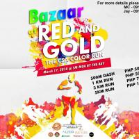 BAZAAR AT RED AND GOLD: THE CSA COLOR RUN
