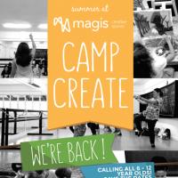 CAMP CREATE - A CREATIVE DAY CAMP