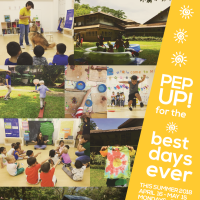 PEP UP SUMMER AT THE LEARNING CHILD