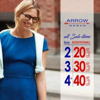 ARROW WOMAN'S SUPER SUMMER SALE!