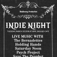 INDIE NIGHT AT SAGUIJO CAFE + BAR EVENTS