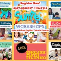 SUMMER PROGRAMS 2018 KIDS AT PRIME ENGLISH
