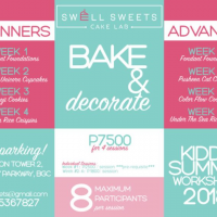 BAKE + DECORATE SUMMER WORKSHOP 2018