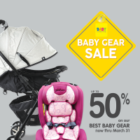 BABY COMPANY BABY GEAR SALE: MARCH 2018