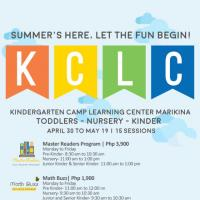 SUMMER'S G HERE. LET THE FUN AND LEARNING BEGIN AT KCLC