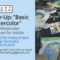 "PALLETTE-UP: ""BASIC WATERCOLOR"""
