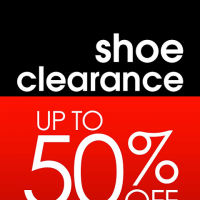 SHOE CLEARANCE SALE