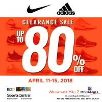 SPORTS CENTRAL'S CLEARANCE SALE!