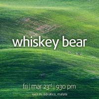 BLUEGRASS FRIDAY WITH WHISKEY BEAR AT THE MINOKAUA