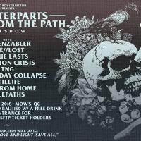 COUNTERPARTS X STRAY FROM THE PATH PRE-SHOW AT MOW'S