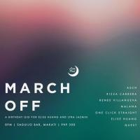 MARCH OFF - A BIRTHDAY GIG FOR ELISE HUANG & LYRA JAZMIN AT SAGUIJO CAFE + BAR EVENTS
