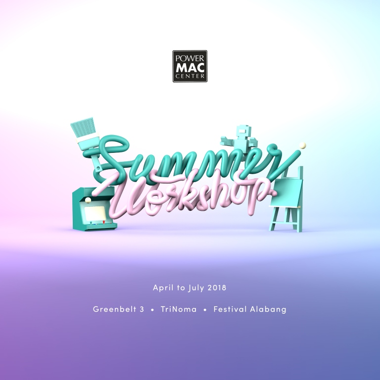 Power Mac Center Summer Workshops 2018