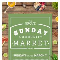 YOUR MUST-SEE SUNDAY MARKET RETURNS TO THE GROVE BY ROCKWELL
