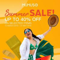 MUMUSO SUMMER SALE 2018
