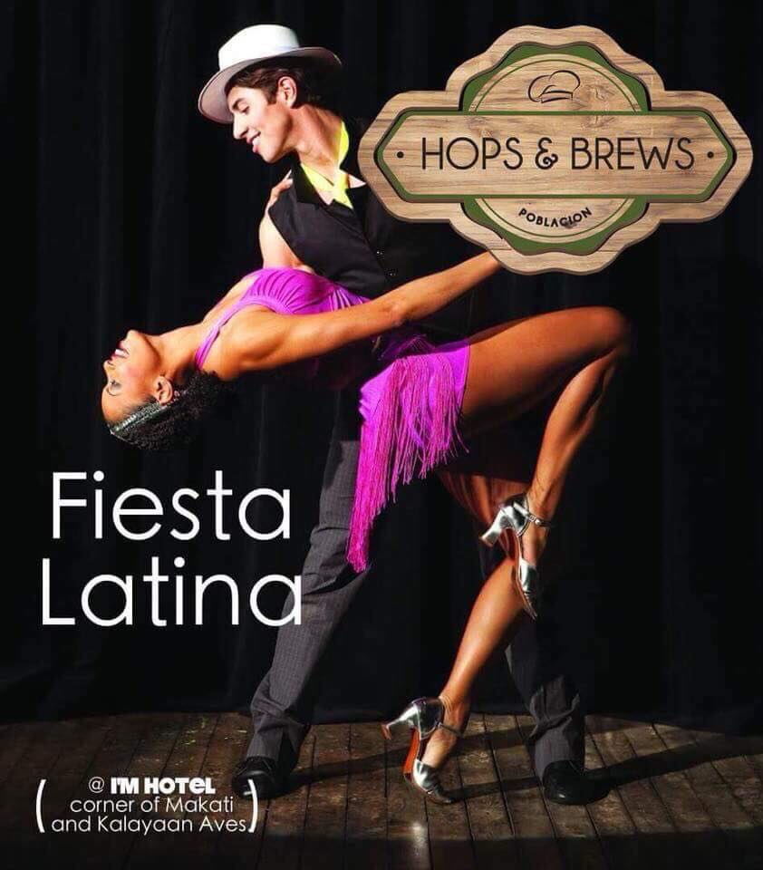 FIESTA LATINA DANCE TUESDAY AT HOPS & BREW