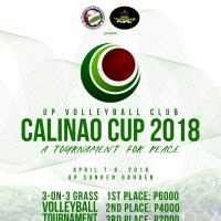 The Calinao Cup: A Tournament for Peace Happening on April 7 & 8
