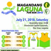 Magandang Laguna Fun Run 2018